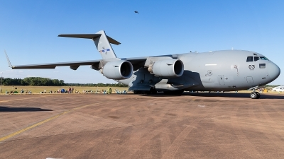 Photo ID 220693 by markus altmann. NATO Strategic Airlift Capability Boeing C 17A Globemaster III, 08 0003