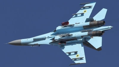 Photo ID 220818 by Paul Newbold. Ukraine Air Force Sukhoi Su 27P1M,