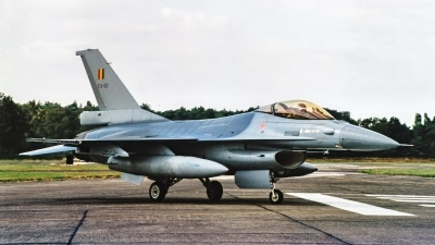 Photo ID 220864 by Jan Eenling. Belgium Air Force General Dynamics F 16AM Fighting Falcon, FA 110