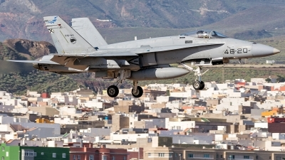Photo ID 220885 by Adolfo Bento de Urquia. Spain Air Force McDonnell Douglas F A 18A Hornet, C 15 92