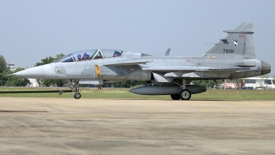 Photo ID 220936 by Thanh Ho. Thailand Air Force Saab JAS 39D Gripen, KH20K 1 54