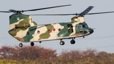 Photo ID 220921 by Andreas Zeitler - Flying-Wings. Japan Air Force Boeing Vertol Kawasaki CH 47J Chinook, 37 4489
