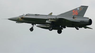 Photo ID 220979 by Arie van Groen. Private Swedish Air Force Historic Flight Saab J35J Draken, SE DXR