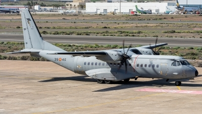 Photo ID 220996 by Adolfo Bento de Urquia. Spain Air Force CASA C 295M, T 21 07