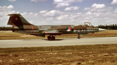 Photo ID 221003 by Alex Staruszkiewicz. Netherlands Air Force Lockheed F 104G Starfighter, D 8331