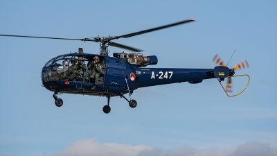 Photo ID 221019 by Jan Eenling. Netherlands Air Force Aerospatiale SA 316B Alouette III, A 247