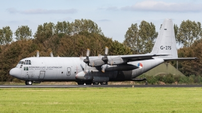 Photo ID 221020 by Jan Eenling. Netherlands Air Force Lockheed C 130H Hercules L 382, G 275