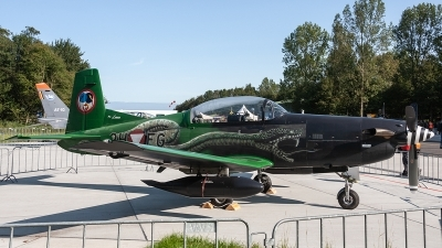 Photo ID 222680 by Jan Eenling. Austria Air Force Pilatus PC 7 Turbo Trainer, 3H FG