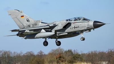 Photo ID 221047 by Dieter Linemann. Germany Air Force Panavia Tornado IDS, 43 46
