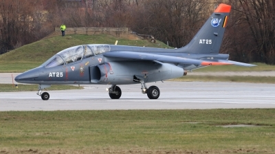 Photo ID 221151 by Milos Ruza. Belgium Air Force Dassault Dornier Alpha Jet 1B, AT25