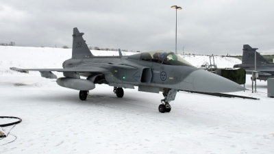 Photo ID 221124 by Magnus Persson. Sweden Air Force Saab JAS 39C Gripen, 39252