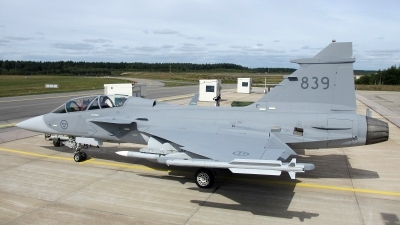 Photo ID 221128 by Magnus Persson. Sweden Air Force Saab JAS 39D Gripen, 39839