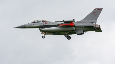 Photo ID 221189 by Jan Eenling. Denmark Air Force General Dynamics F 16AM Fighting Falcon, E 011