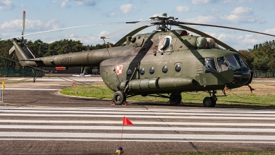 Photo ID 221208 by Jan Eenling. Poland Air Force Mil Mi 8MT, 6107