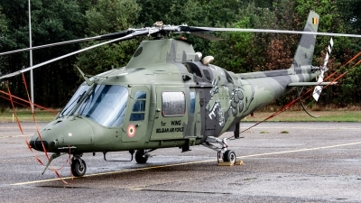Photo ID 221212 by Jan Eenling. Belgium Air Force Agusta A 109HO A 109BA, H16