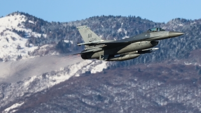 Photo ID 221277 by Giampaolo Tonello. USA Air Force General Dynamics F 16C Fighting Falcon, 89 2041