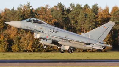 Photo ID 221294 by Dieter Linemann. Germany Air Force Eurofighter EF 2000 Typhoon S, 30 86