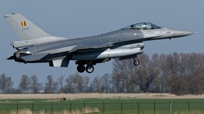 Photo ID 221304 by Rainer Mueller. Belgium Air Force General Dynamics F 16AM Fighting Falcon, FA 87