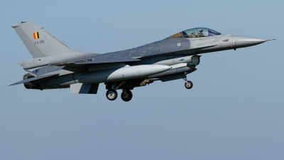 Photo ID 221305 by Rainer Mueller. Belgium Air Force General Dynamics F 16AM Fighting Falcon, FA 95
