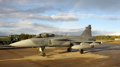 Photo ID 221322 by Magnus Persson. Sweden Air Force Saab JAS 39C Gripen, 39252