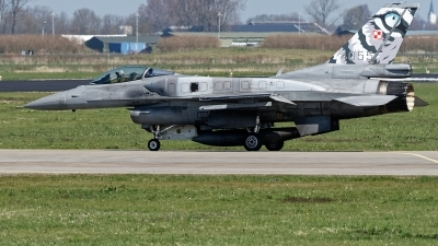 Photo ID 221352 by Rainer Mueller. Poland Air Force General Dynamics F 16C Fighting Falcon, 4055