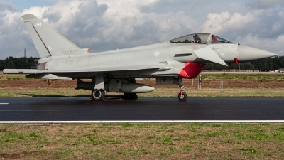 Photo ID 221377 by Jan Eenling. UK Air Force Eurofighter Typhoon FGR4, ZK348