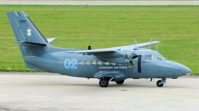 Photo ID 221411 by Stephan Franke - Fighter-Wings. Lithuania Air Force LET L 410UVP, 02 BLUE