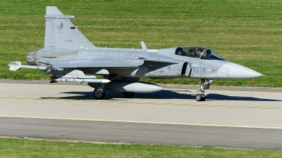 Photo ID 221413 by Stephan Franke - Fighter-Wings. Czech Republic Air Force Saab JAS 39C Gripen, 9238