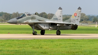 Photo ID 221418 by Stephan Franke - Fighter-Wings. Slovakia Air Force Mikoyan Gurevich MiG 29AS, 6425