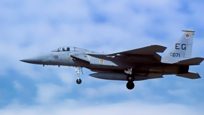 Photo ID 221416 by Gerrit Kok Collection. USA Air Force McDonnell Douglas F 15A Eagle, 75 0071
