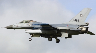 Photo ID 221447 by Arie van Groen. Netherlands Air Force General Dynamics F 16AM Fighting Falcon, J 866