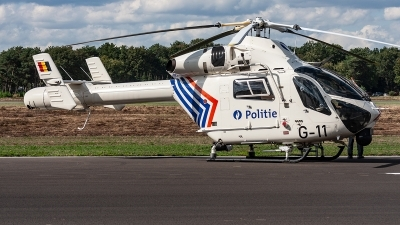 Photo ID 221471 by Jan Eenling. Belgium Police MD Helicopters MD 902 Explorer, G 11