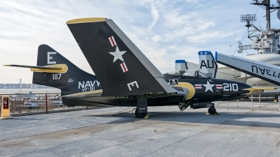 Photo ID 221481 by Adolfo Bento de Urquia. USA Navy Grumman F9F 8 Cougar, 141117