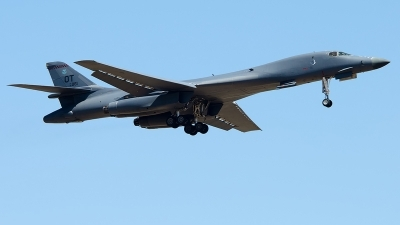 Photo ID 221505 by Brandon Thetford. USA Air Force Rockwell B 1B Lancer, 85 0061