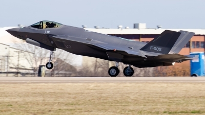 Photo ID 221487 by Brandon Thetford. Netherlands Air Force Lockheed Martin F 35A Lightning II, F 005