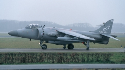 Photo ID 221514 by Henk Schuitemaker. UK Navy British Aerospace Sea Harrier FA 2, ZH796