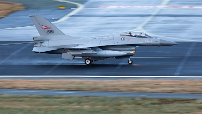 Photo ID 221529 by Jan Philipp. Norway Air Force General Dynamics F 16AM Fighting Falcon, 681