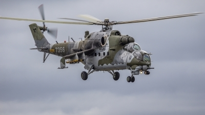 Photo ID 221531 by Stephen Cooper. Czech Republic Air Force Mil Mi 35, 7356