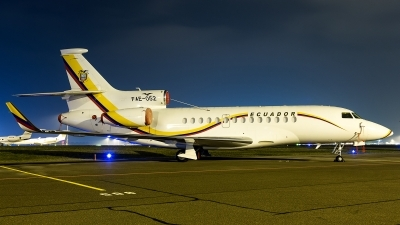Photo ID 221632 by Thomas Ziegler - Aviation-Media. Ecuador Air Force Dassault Falcon 7X, FAE052