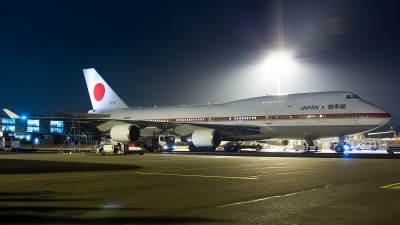 Photo ID 221628 by Thomas Ziegler - Aviation-Media. Japan Air Force Boeing 747 47C, 20 1101