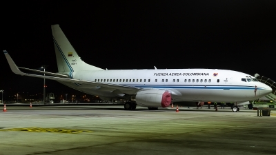 Photo ID 221630 by Thomas Ziegler - Aviation-Media. Colombia Air Force Boeing 737 74V, FAC0001