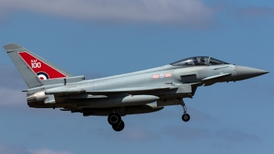 Photo ID 221684 by Thomas Ziegler - Aviation-Media. UK Air Force Eurofighter Typhoon FGR4, ZK318