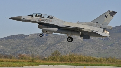 Photo ID 221720 by Giorgos Volas. Greece Air Force General Dynamics F 16D Fighting Falcon, 149