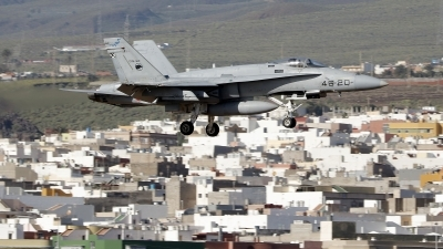 Photo ID 221756 by Montserrat Pin. Spain Air Force McDonnell Douglas F A 18A Hornet, C 15 92