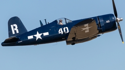 Photo ID 221762 by Alex Jossi. Private Erickson Aircraft Collection Vought F4U 7 Corsair, NX1337A