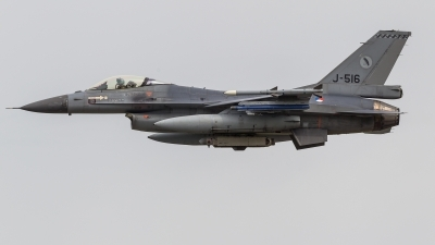Photo ID 221886 by Sascha Gaida. Netherlands Air Force General Dynamics F 16AM Fighting Falcon, J 516