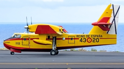 Photo ID 221818 by Photography JC la Palma. Spain Air Force Canadair CL 215T, UD 13 20
