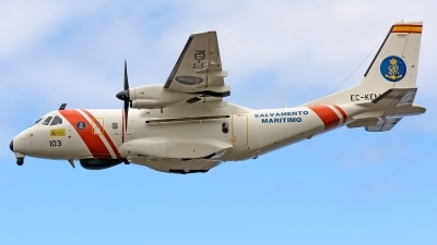 Photo ID 221897 by Photography JC la Palma. Spain Maritime Safety and Rescue Agency CASA CN235 300MPA Persuader, EC KEM