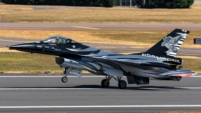 Photo ID 221926 by Thomas Ziegler - Aviation-Media. Belgium Air Force General Dynamics F 16AM Fighting Falcon, FA 101