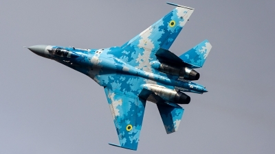 Photo ID 221932 by Thomas Ziegler - Aviation-Media. Ukraine Air Force Sukhoi Su 27P1M,